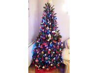 "Canadian Christmas Tree 6ft 6"" Dark Green"
