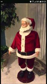 Wanted Santa clause christmas decoration