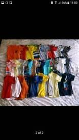 Large bundle of boy's clothes. 49 items.
