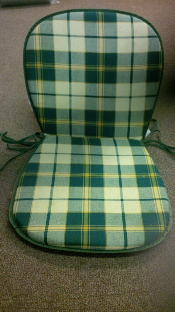 Garden Seat Cushions And Back For 6 Chairs