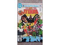 DC Comics New teen titans No 1 1980