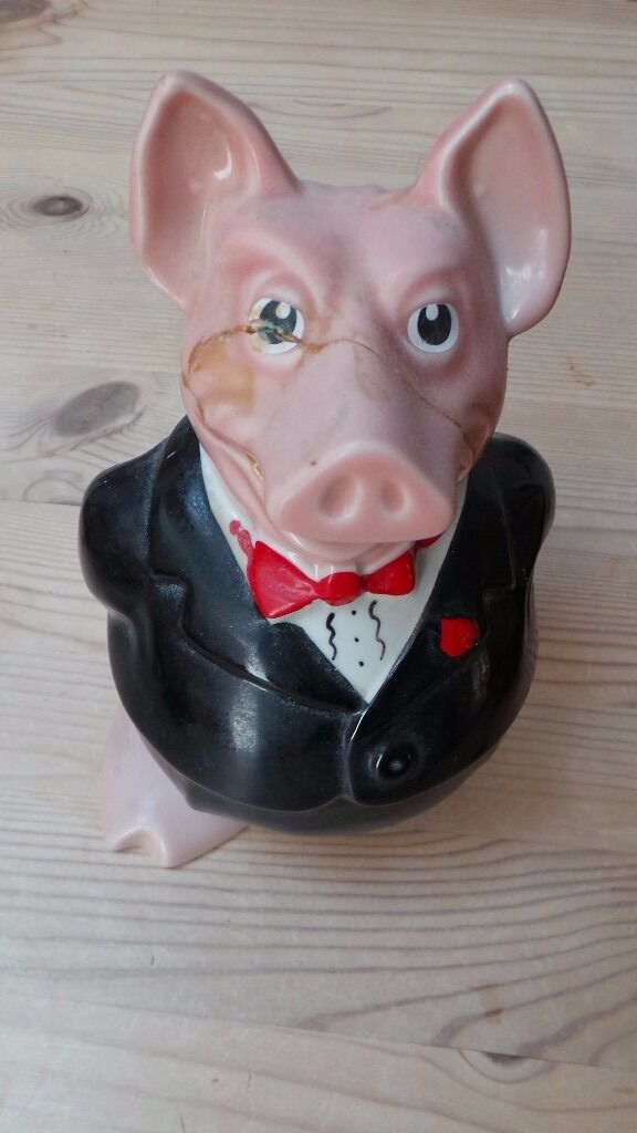 Vintage Retro Wade Natwest Sir Nathaniel Pig Piggy Bankin Cambridge, CambridgeshireGumtree - Vintage Retro Wade Natwest Sir Nathaniel Pig Piggy Bank Wade piggy bank. Sir Nathaniel. Original stopper. Has been reglued. Please see my other items