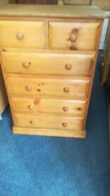 Large Pine Chest 4&2