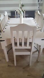 Kitchen table and 6 chairs*REDUCED to £150