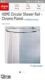 Circular Shower rail chrome plated finish NEW