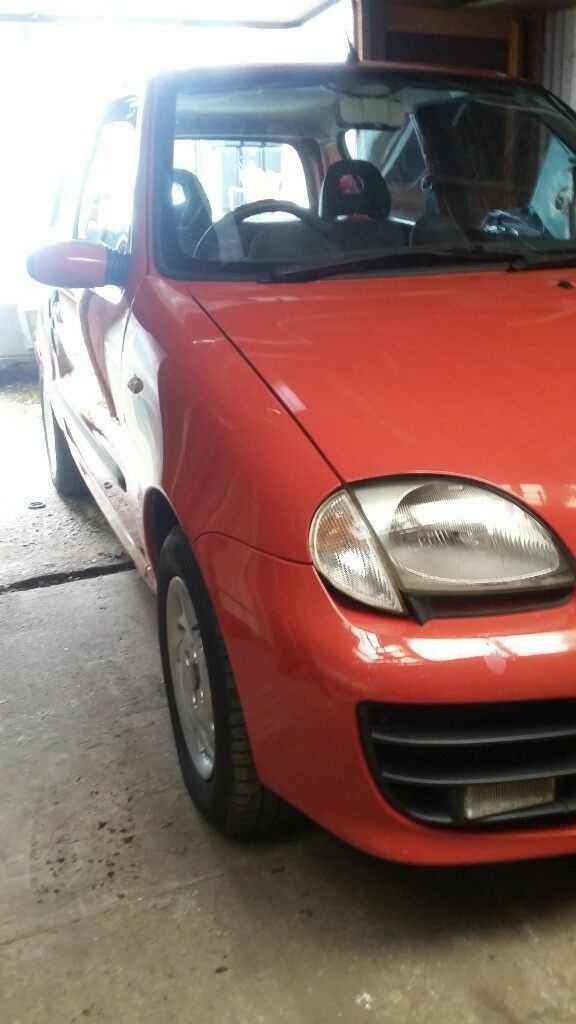 QUICK SALE! Red Fiat Seicento Sporting 1.1 Petrol 2001..£250ono