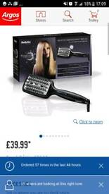 Babyliss Heated Smoothing Hair Brush