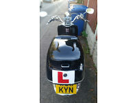lexmoto tommy 125cc retro scooter for sale £600 or swap