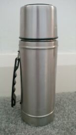 Stainless steel 1 litre thermos flask