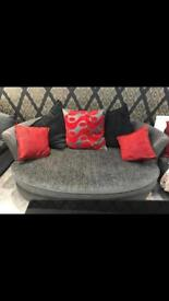 2 Seater Cuddler Sofa