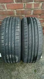2 X 205 55 R16 INFINITY TYRES,AROUND 7 MM TREAD DEPTH,2 YEARS OLD, VERY GOOD CONDITION