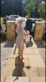 Benjamin Adams Catherine's of Patrick Bridal bag and shoes and hat worth £430