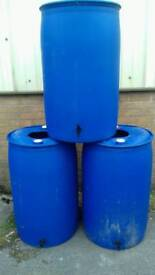 Water Butts used