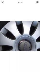 Audi A3 rims and tyres
