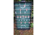table-top bar-football and billiard games
