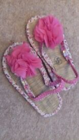 Girls m&s sandals size 9