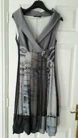 Italian dress size 10-12