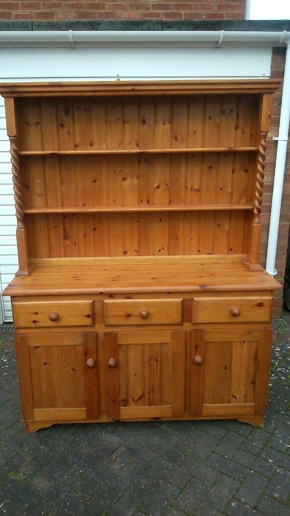 Pine Welsh Dresser - Good Condition