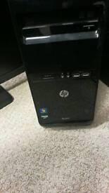 """HP Desktop Pro, AMD, Windows, Office, 21"""" HP monitor"""