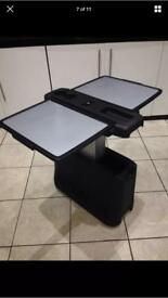 Mercedes Viano Vito folding table W639 for slotted rails