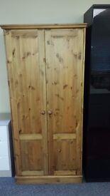 New 2 doors pine wardrobe ONLY £125