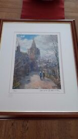 Print of Brechin Cathedral