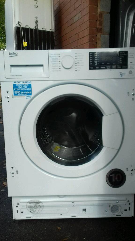 Integrated Washer dryer Beko 7kg new never used offer sale £291