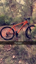 Orange Clockwork 120 Medium Mountain Bike