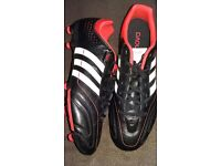 New Adidas unworn lightweight football boots size 9
