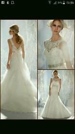 Mori Lee, 1957 madeline gardner size 10 wedding dress