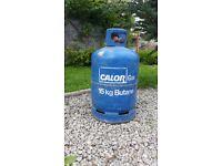 Calor Gas butane bottle, 15kg, full.