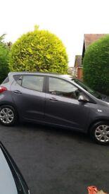 Hyundai i10 1.2SE.Road Tax £30. Colour Storm Grey.Excellent Condition