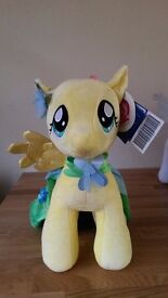 Build-A-Bear My Little Pony Fluttershy and Cape- new with tags.
