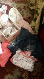 Baby girl clothes newborn 3 6 9 months