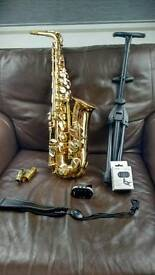 Alto saxophone Elkhart blessing