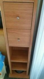 Lovely wood storage unit