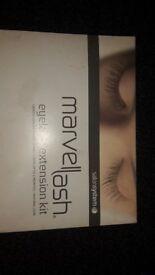 marvel lash eye lash extension kit