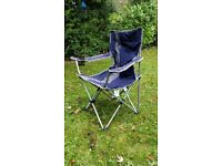 Foldable camping chairs. Used but good condition.