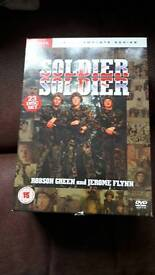 Complete set of Soldier Soldier