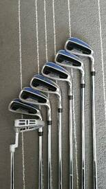 Iron set with stand bag