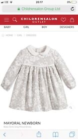 Brand new with tags Mayoral Baby dress