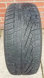 1 x 235/50R18 101V M+S PIRELLI TYRE NO REPAIRS 235 50 18 TREAD 4.5MM