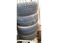 """SET OF 4 (FOUR) WINTER TYRES AS NEW LITTLE USED Set of 4 Winter Tyres """"GOODYEAR"""" Ultra Grip"""