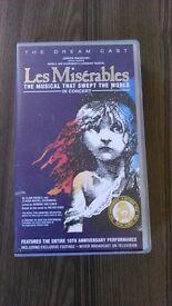 Les Miserables in Concert Video