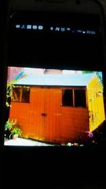10x8 apex as new shed
