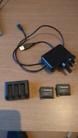 Smatree battery pack x2 for Gopro Hero 4