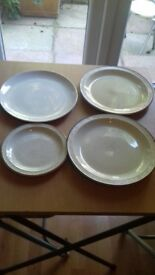 Poole pottery plates