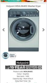 New ex display Hotpoint washer and dryer only £200 bargain price