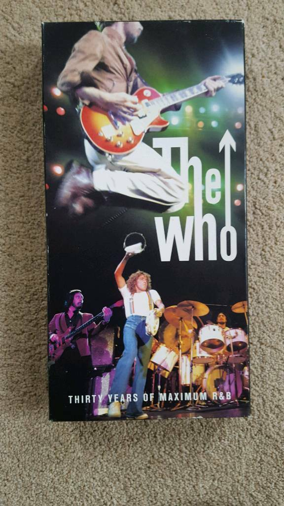 """THE WHO """"THIRTY YEARS OF MAXIMUM R&B"""" BOX SET - EXCELLENT CONDITION"""