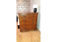 Great rustic chest of drawers for sale